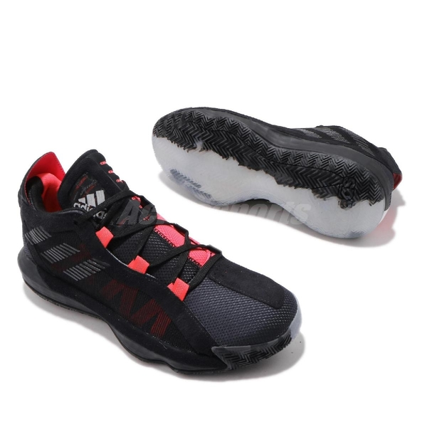 adidas 籃球鞋 Dame 6 GCA Ruthless 黑 紅 男鞋 鴛鴦 Damian Lillard 運動鞋【PUMP306】 EF9875