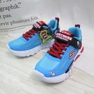 Skechers SLIGHTSR FLEX GLOW 中童鞋 406002LBLBK 藍色【iSport愛運動】