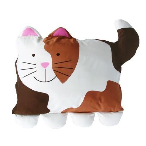 doomagic純棉兒童枕頭套卡通動物造型寶寶枕套嬰兒-貓咪