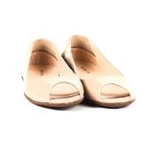 ALL BLACK 時尚典雅美型素面魚口平底鞋-- 粉紅