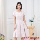 【RED HOUSE 蕾赫斯】緹花洋裝...