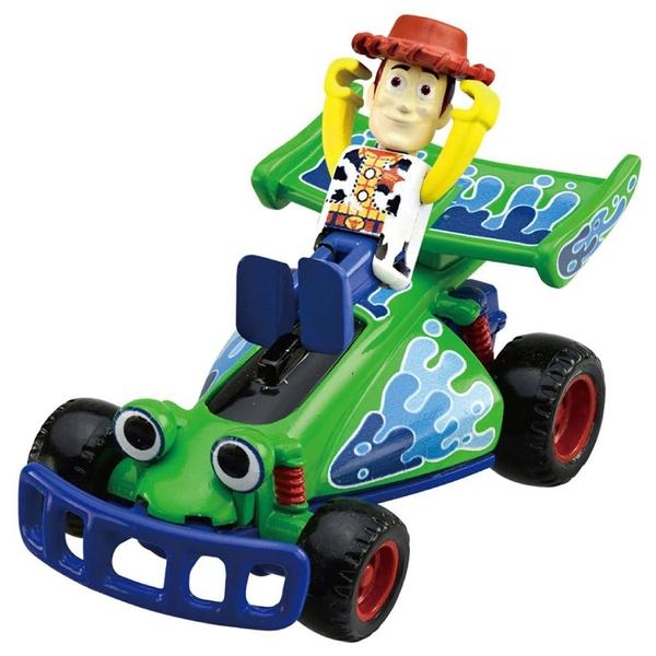 TOMICA 玩具總動員小汽車 胡迪&遙控車