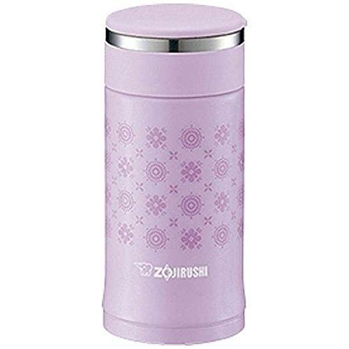 日本品牌【象印】不鏽鋼真空保溫杯 200ml紫