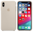 Apple iPhone XS Max 原廠矽膠護套 iPhone XS Max 原廠保護殼【岩石白色】 美國水貨 原廠盒裝