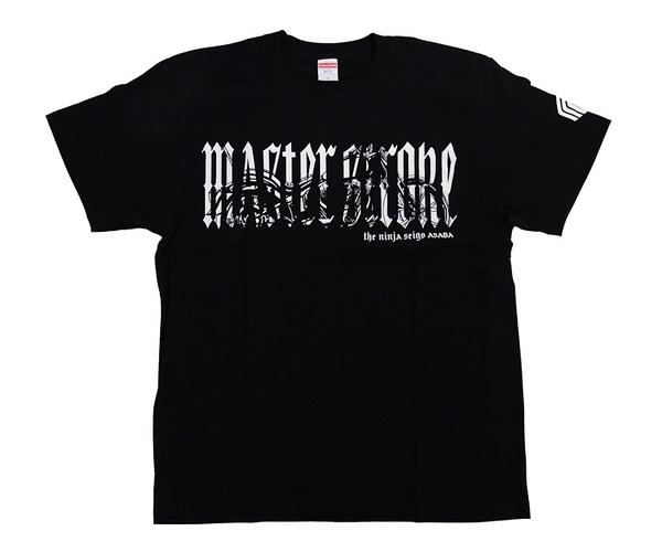 【MASTER STROKE】T-Shirts 淺田齊吾 Seigo ver.2 Black XL 飛鏢衣服 DARTS