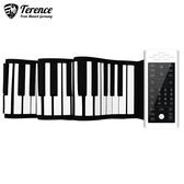 鋼琴 手卷鋼琴 專業88鍵盤加厚初學者多功能便攜式折疊電子琴軟88鍵 快速出貨