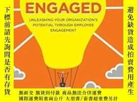 二手書博民逛書店Engaged:罕見Unleashing Your Organization s Potential Throug