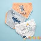 男童內褲三角純棉短褲寶寶幼童兒童平角褲【淘嘟嘟】