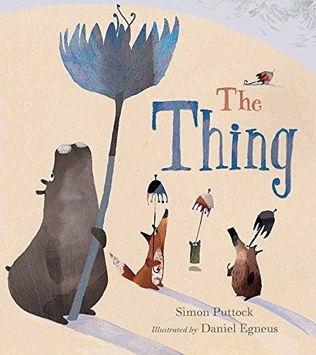 【麥克書店】THE THING /英文繪本《主題: 友誼》