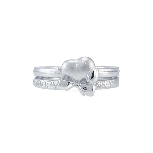 史努比SNOOPY-專屬守護-純銀戒指