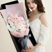 浪漫創意送女友七夕情人節情侶實用玫瑰花束禮盒 ZB152『美鞋公社』