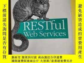 二手書博民逛書店RESTful罕見Web Services(中文版)英文原版 書 348 Y138362 出版2007