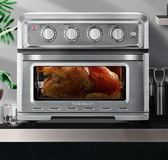 Cuisinart/美膳雅TOA-60CN電小烤箱烤家用小型烘焙多功能風爐烤箱 220v