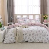 鴻宇 雙人加大兩用被套床包組 100%精梳純棉 黛兒 台灣製C20101