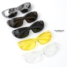 護目鏡 簡單方型微透色太陽眼鏡NY434