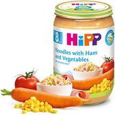 Hipp 喜寶 -天然蔬菜火腿麵220g x6罐 536元