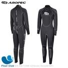 AROPEC 5mm 半乾式防寒衣(女) 超彈性 半乾式連身防寒衣 潛水衣 防寒衣 深潛泳衣 潛水員衣