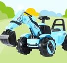 電動挖掘機 兒童電動挖掘機玩具車挖土機可坐人可騎超大號男孩充電挖機TW【快速出貨八折鉅惠】
