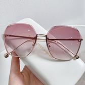 2021年新款女士時尚墨鏡韓版潮防紫外線眼鏡網紅顯瘦顯白太陽眼鏡 一米陽光