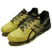 【六折特賣】Asics 越野慢跑鞋 Gel-Sonoma 3 G-TX 黃 黑 男鞋 運動鞋 【PUMP306】 T727N8990