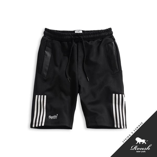 【Roush】側邊線條潮流短棉褲 - 【825290】