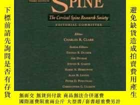 二手書博民逛書店The罕見Cervical Spine: The Cervical Spine Research Society