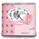 【南紡購物中心】情人小捲筒衛生紙(240組/6捲/10串/箱)