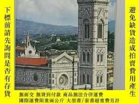 二手書博民逛書店佛羅倫薩罕見全彩畫冊 Florence A Complete Guide for Visiting the Cit
