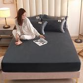 床罩 加厚保暖水晶絨床笠單件珊瑚絨床罩1.5/1.8m法蘭絨冬床墊套法萊絨【快速出貨】