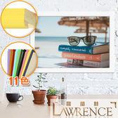 【羅蘭絲】馬卡龍色實木相框8x12吋(11色)畫框木框照片框相片框客製-520