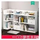 桌面收納書桌收納架學生臥室簡易桌上書架辦公桌小架子書柜桌面小型置物架YYS 【快速出貨】