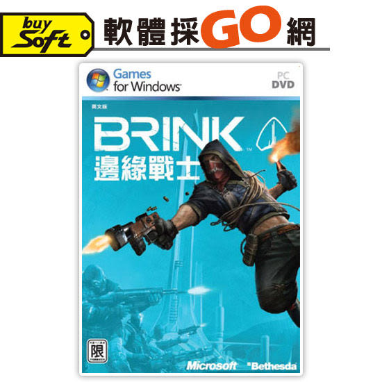 【軟體採Go網】PCGAME電腦遊戲-邊緣戰士 英文版(含中文手冊)