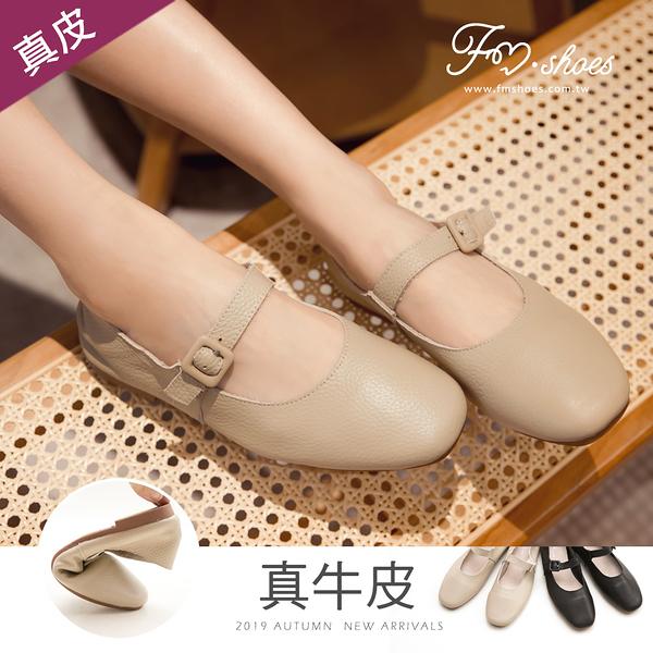 包鞋.真牛皮方頭瑪莉珍鞋-FM時尚美鞋-Collection.Autumn