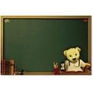 【奇奇文具】3M 558L-B 熊熊可再貼備忘板