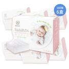 Roaze柔仕 - 抽取式乾濕兩用嬰兒紗布毛巾 160抽/6盒