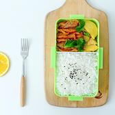 帶蓋密封保鮮飯盒(大) 便當 卡扣 菜盒 野餐 三明治 露營 食物 外出【M029-1】MY COLOR