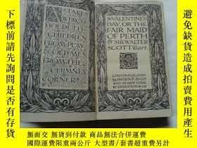 二手書博民逛書店【民國舊書】The罕見Fair Maid of PerthY82