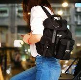 ■現貨在台■專櫃75折☆全新真品 Prada 1BZ677 經典黑色 跳傘布及皮革後背包