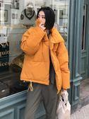 2018新款冬季外套chic棉襖ins面包棉服女短款韓版oversize棉衣潮 【PINKQ】