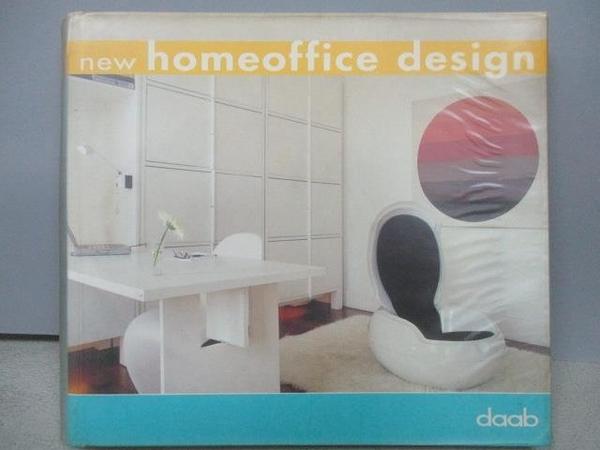 【書寶二手書T8/設計_MOB】New Homeoffice design