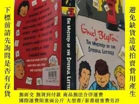 二手書博民逛書店the罕見mystery of the spiteful letters 惡意信件的奧秘...Y200392