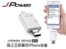 [富廉網] iPhone OTG 讀卡機 JP-i668   適用於OSX,Windows和Linux系統   兼容iPhone / iPad / iPod 及MAC模式
