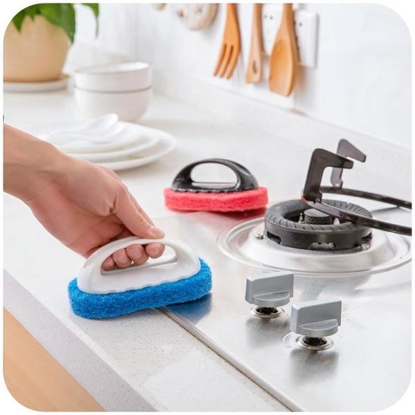 [超豐國際]強力去污浴缸刷神奇海綿瓷磚刷子廚房用品洗鍋清潔刷海綿擦