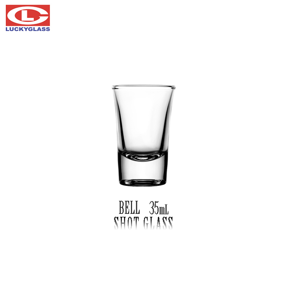 SYG 35cc厚底喇叭杯 一口杯 吞杯 shot杯 轟炸機 烈酒杯 厚底杯 白酒杯