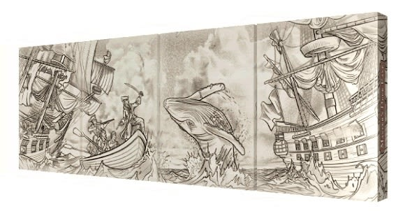 【USPCC 撲克】SEVEN SEAS Playing Cards East/WEST/PIRATES/Sea Creatures