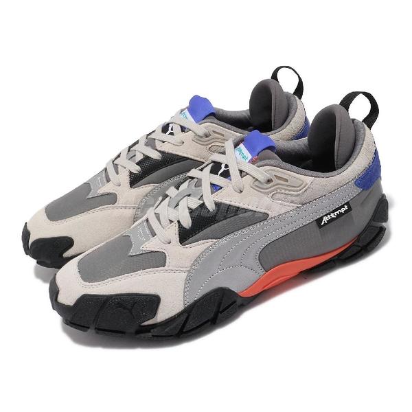 【海外限定】Puma 休閒鞋 Centaur Attempt 灰 反光 橘藍 聯名款 海外款 男鞋 【ACS】 373518-01
