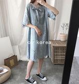 現貨 韓製波浪裙襬簍空勾花附內裡蕾絲洋裝 CC KOREA ~ Q16461