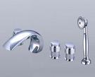 【麗室衛浴】TAP  浴缸龍頭 5件式  112026