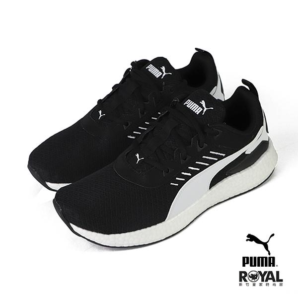 Puma Nrgy Elate 黑色 網布 休閒運動鞋 男款 NO.B1619【新竹皇家 19405603】