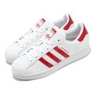 【五折特賣】adidas 休閒鞋 Superstar W 白 紅 女鞋 愛心 運動鞋 貝殼頭 【ACS】 FX8729